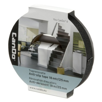 CanDo Traprenovatie Antislip Tape 25 mm - 18 Meter