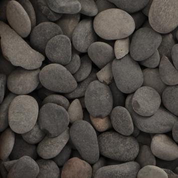 Grind Keien Pebbles Zwart 30-80 mm