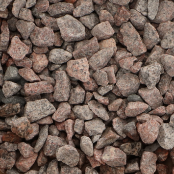 Split Grind Graniet Rood 8-16 mm