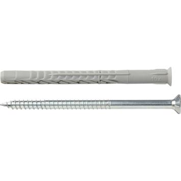 Fischer Constructieplug SXRL 10x120 mm met torx schroef 4 stuks