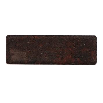 Klinker Facet Dikformaat Rood/Zwart 21x7x7 cm