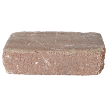 Trommelsteen Bruin/Zwart 28x21x7 cm