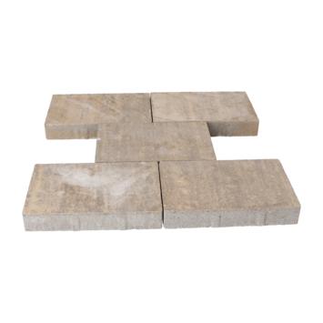 Terrastegel Beton Broadway Beige/Bruin 30x20x4,7 cm