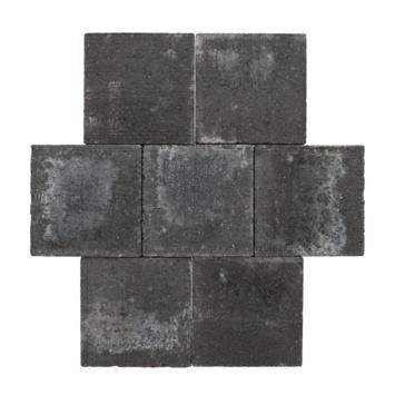 Trommelsteen Beton Plano Antraciet 21x21x7 cm