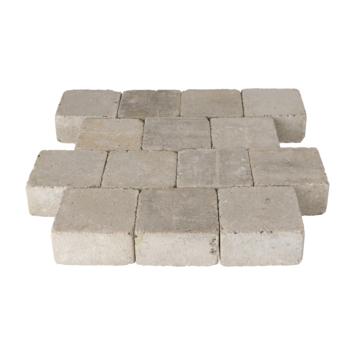 Trommelsteen Beton Grijs 14x14x7 cm
