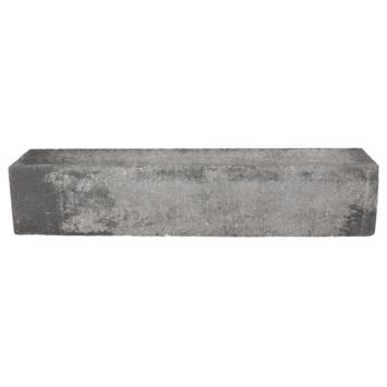 Stapelblok Beton Strak Grijs/Zwart 60x12x10 cm