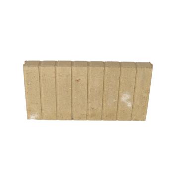 Palissade Beton Geel 50x25x6 cm