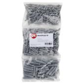 OK pluggen voordeelpak grijs 450 stuks