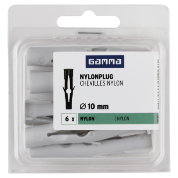 GAMMA Nylonplug 10x60mm 6ST