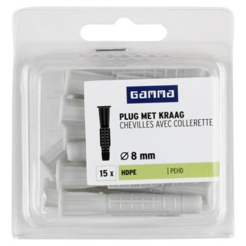GAMMA kraagplug 8x50mm 15ST