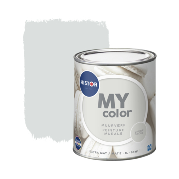 Histor My Color muurverf extra mat candle smoke 1 liter