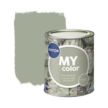 Histor My Color muurverf extra mat boulder lichen 1 liter