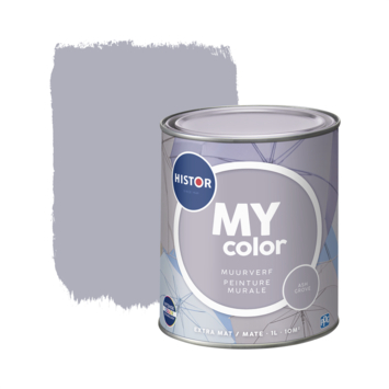Histor My Color muurverf extra mat ash grove 1 liter