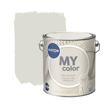 Histor My Color muurverf extra mat singing sand 2,5 liter