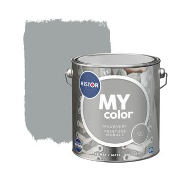 Histor My Color muurverf extra mat steel mill 2,5 liter