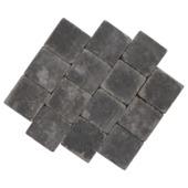 Trommelsteen Antraciet 14x14x7 cm