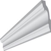 Inspirations plafondlijst / sierlijst Genova 50mm 2 meter 2 stuk