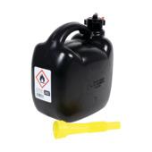 Jerrycan kunststof zwart 5 liter