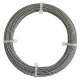 Staalkabel PVC 2,3 mm 10 meter