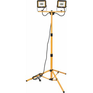 Brennenstuhl bouwlamp op statief 2x 20 W