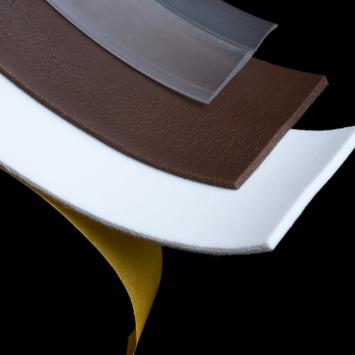 Handson tochtstrip zelfklevend soft PVC transparant 100 cm