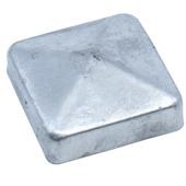 Afdekkap voor Tuinpaal Verzinkt 7x7 cm