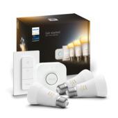 Philips Hue E27 White ambiance starterset