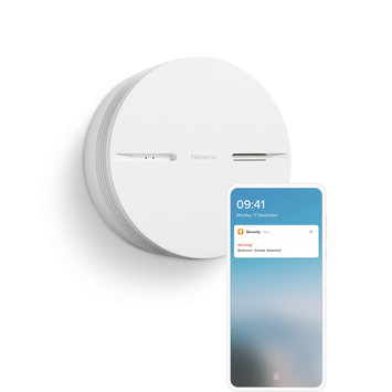 Netatmo Rookmelder Smart Home 10 jaar batterij