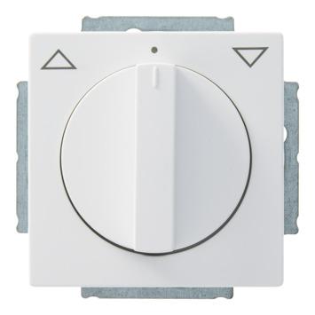 Busch-Jaeger Future Linear jaloezieschakelaar wit