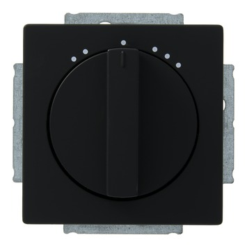 Busch-Jaeger Future Linear ventilatorschakelaar zwart