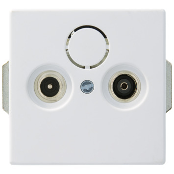 Busch-Jaeger Future Linear Stopcontact Universeel Mat Wit