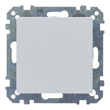 Schneider electric System-M afdekplaat aluminium