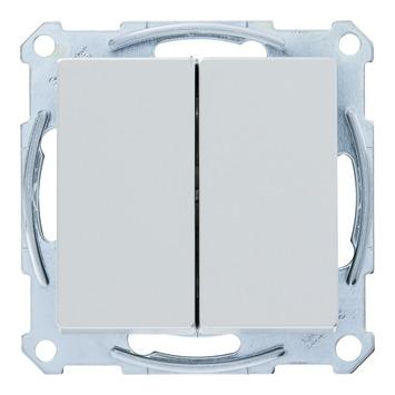 Schneider System wissel-wisselschakelaar aluminium