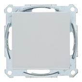 Schneider System wisselschakelaar aluminium