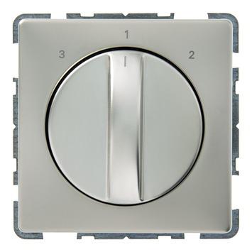 Schneider Electric Artec ventilatorschakelaar rvs