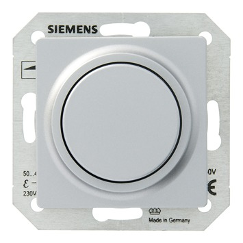 Siemens Delta dimmer gloei-/halogeenlamp aluminium