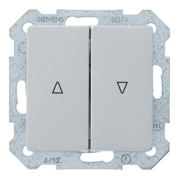 Siemens Delta jaloezieschakelaar aluminium