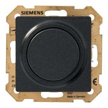 Siemens Delta impulschakelaar antraciet