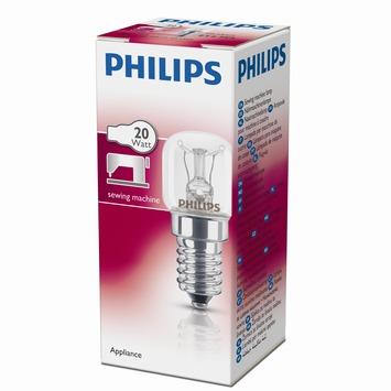 Philips naaimachinelamp E14 20W helder