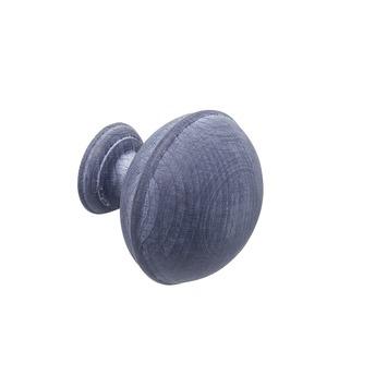 Intensions Natural eindknop roede bel 28 mm kalk grijs