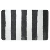 Sealskin badmat Linje grijs met wit 90x60 cm