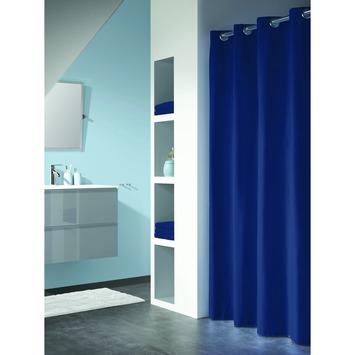 GAMMA | Sealskin douchegordijn Coloris blauw 200x180 cm kopen ...