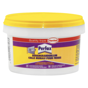 Perfax behangrandenlijm pot 250 gram