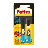 Pattex secondelijm plastic 4 ml