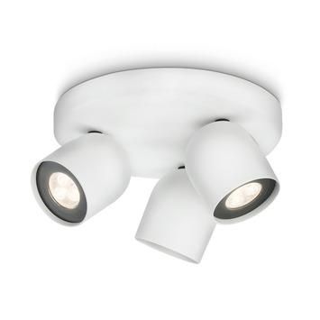 Philips Ledino spotplaat Zesta wit 3-lichts