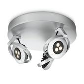 Philips Ledino spotplaat Teqno aluminium 3-lichts