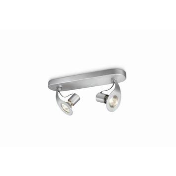 Philips myLiving spotbalk Race aluminium 2-lichts