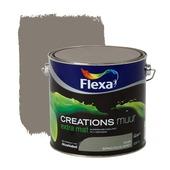 Flexa Creations muurverf spacious grey extra mat 2,5 liter