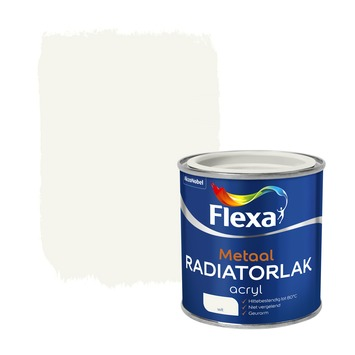 Flexa radiatorlak wit 250 ml