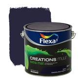 Flexa Creations muurverf dazzling night extra mat 2,5 liter